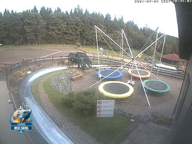 Webcam Skigebiet Tabarz - Inselsberg - Datenberg Sommerrodelbahn - Th�ringer Wald